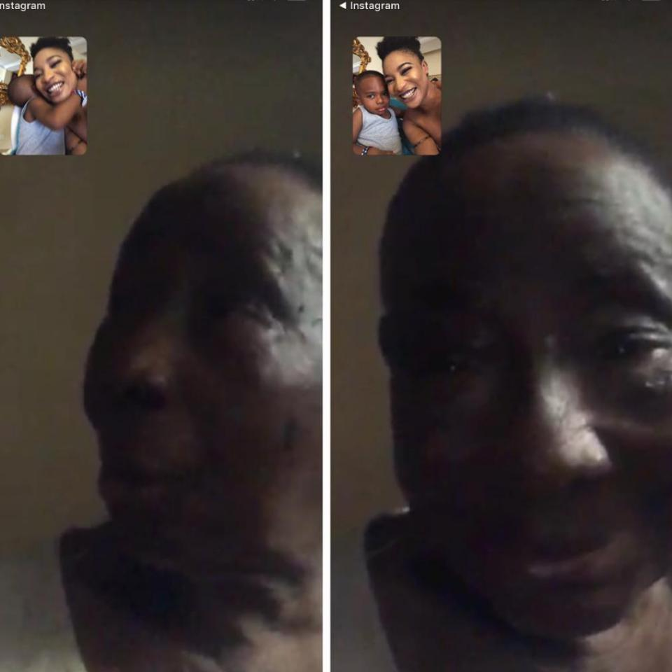 Tonto Dikeh Gets Emotional After FaceTiming Her 102-Year-old Grandma