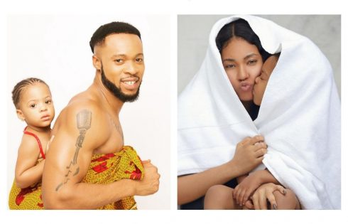 Flavour And Anna Banner Celebrate Their Daughter As She Clocks 3