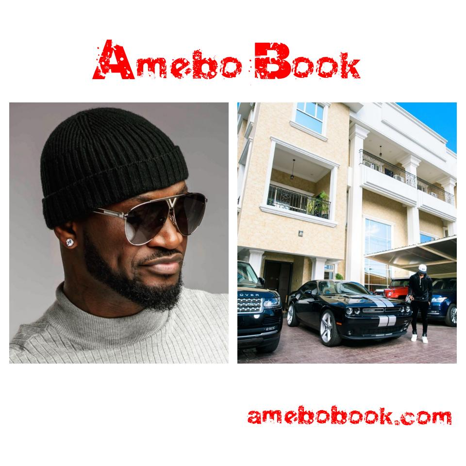 Peter Okoye Shows Off Mansion And Cars