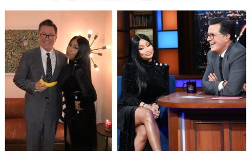 Nicki Minaj Gives Stephen Colbert His Very Own Barbie Dreams