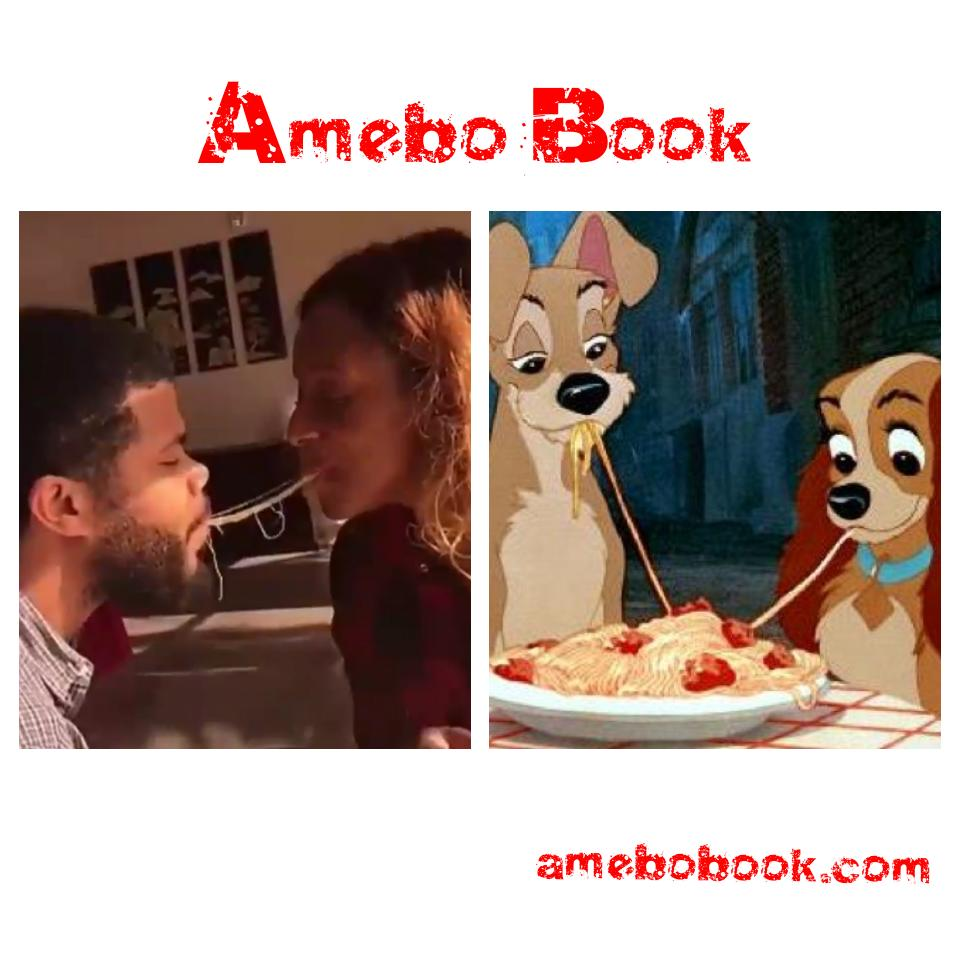 DJ Cuppy And Asa Asika recreate 'Lady and the Tramp' Spaghetti Scene