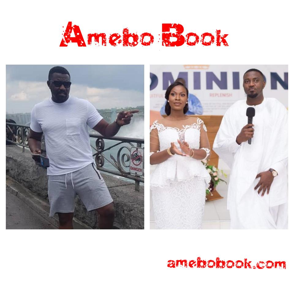 Fans React As John Dumelo Develops Pot Belly