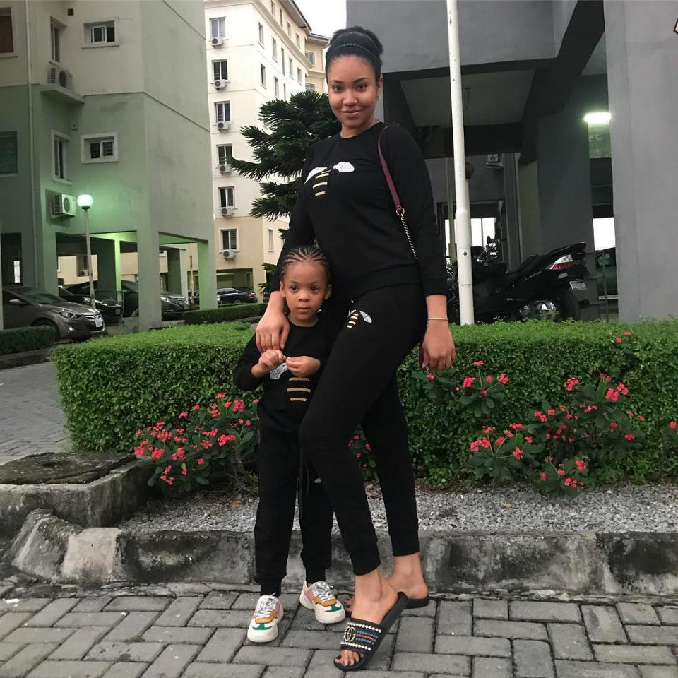 Anna Ebiere And Daughter Are Twinning