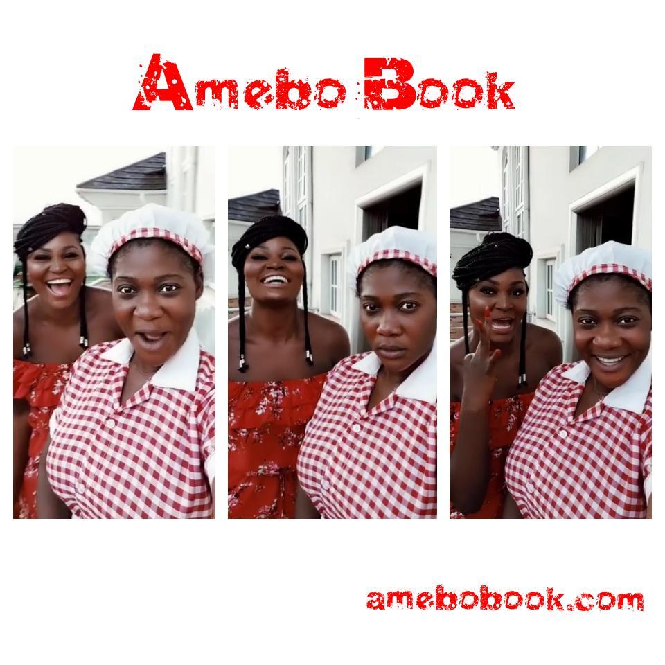 Mercy Johnson And Chizzy Alichi Goof Around