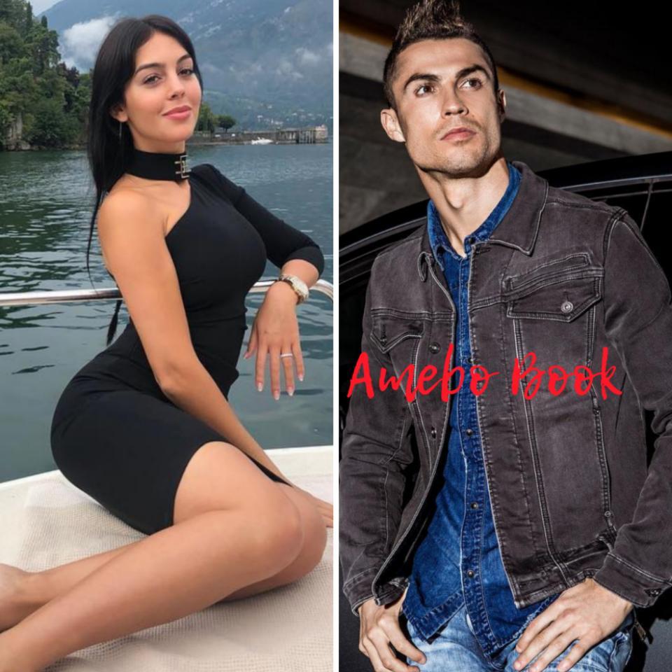 Georgina Rodriguez Cuddled Up With Cristiano Ronaldo On A Yacht
