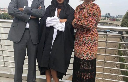 Temi Otedola Receives Bachelors Degree in History of Art