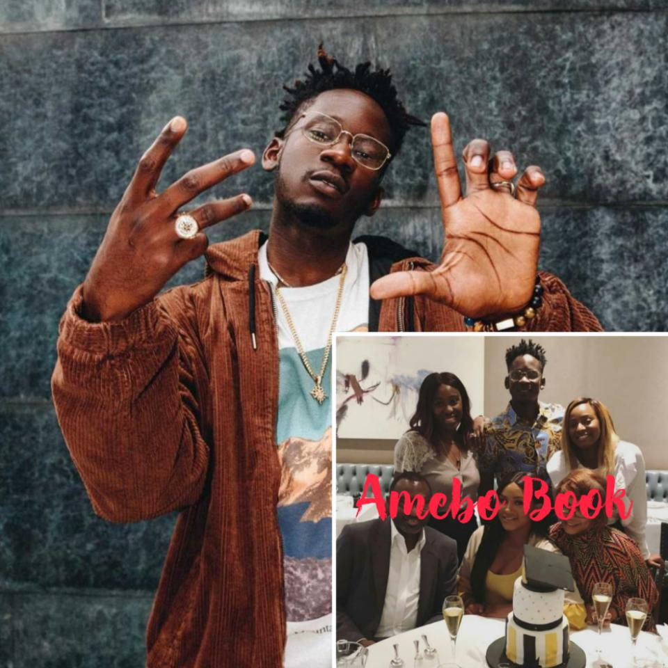 Mr Eazi With The Otedolas To Celebrate Temi Otedola's Graduation