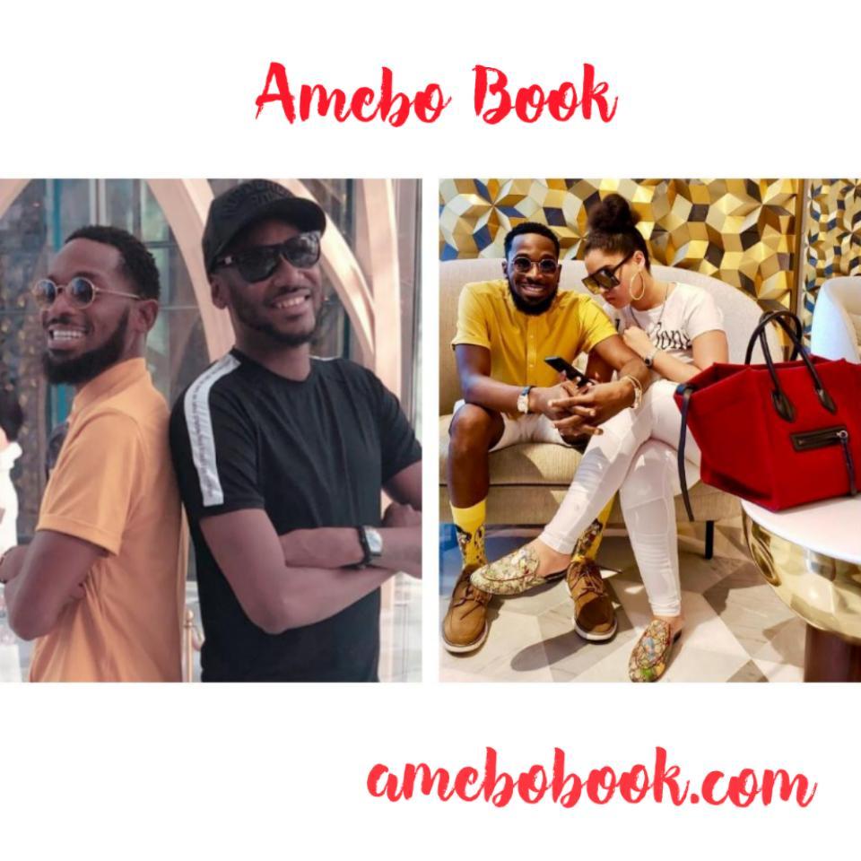 D'Banj And Wife Lineo Didi Kilgrow Holiday With Tuface And Annie Idibia In Dubai