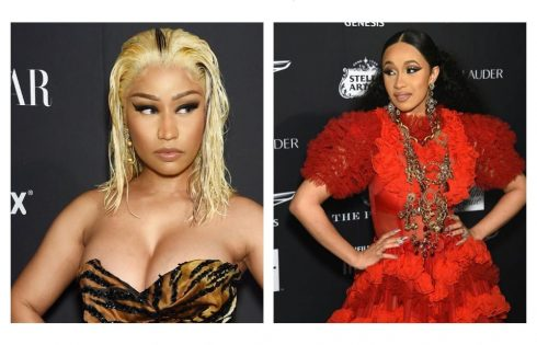 Cardi B Attacks Nicki Minaj With Her Shoe