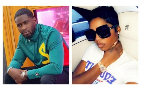 Tiwa Savage Cheers Teebillz As He Goes For Spiritual Maintenance