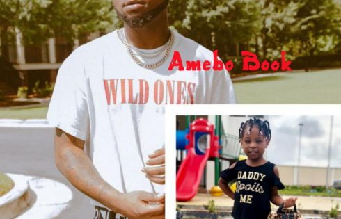Imade Adeleke Rocks Daddy Spoils Me T-shirt