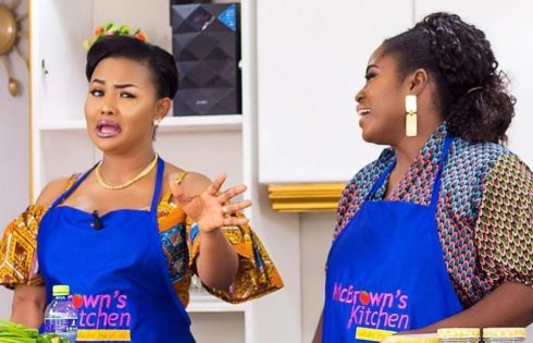 Lydia Forson Cooks Ghana Jollof On McBrown's Kitchen TV Show