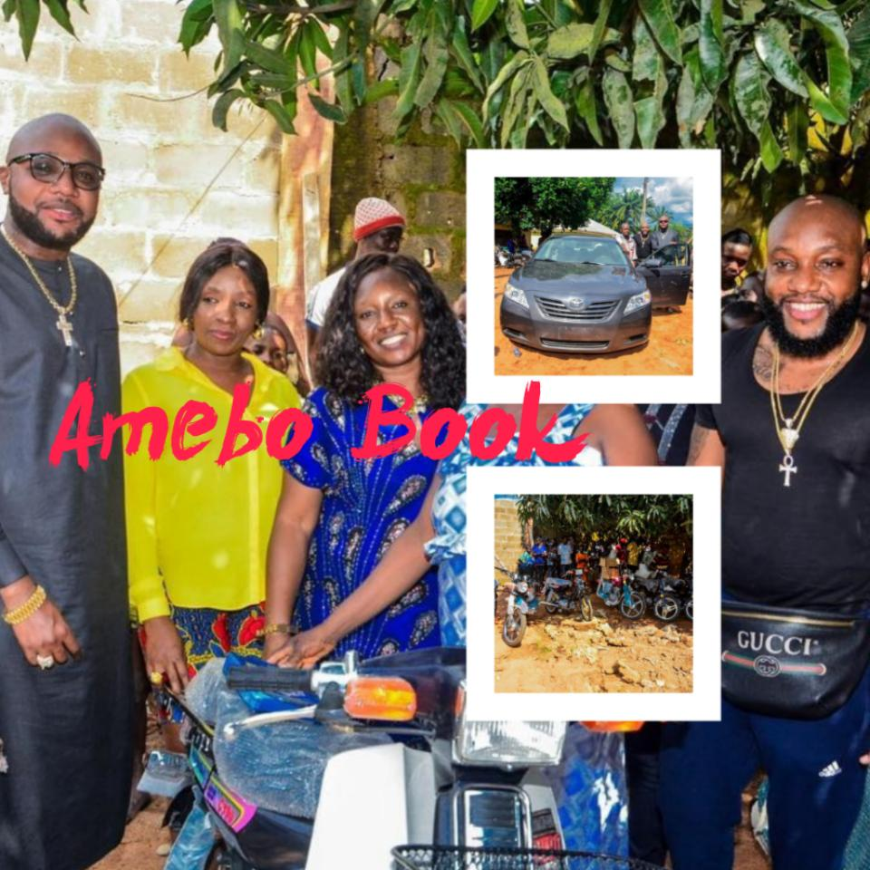 Kcee And E-money Give Out Car And Motorcycles