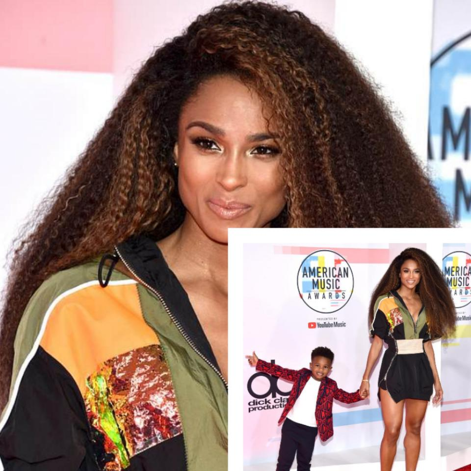 Ciara Brought Her Son As Date To The American Music Awards 2018