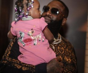 Rick Ross And Berkeley Hermes Enjoy Father-Daughter Moment