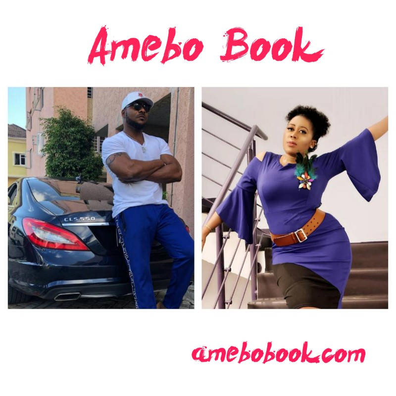 Bolanle Ninalowo Rests His Head On Moyo Lawal's Chest