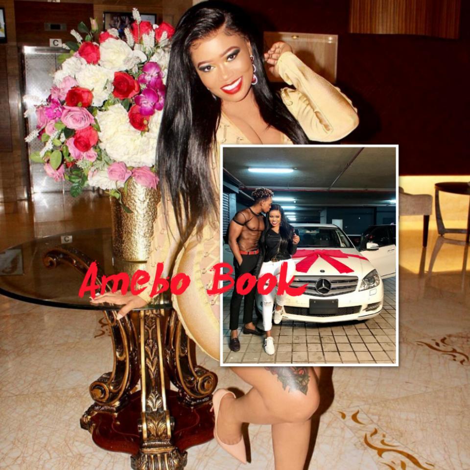 Vera Sidika Buys Calisah Brand New Mercedes