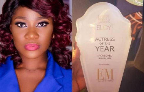 Mercy Johnson ELOY Awards 2018