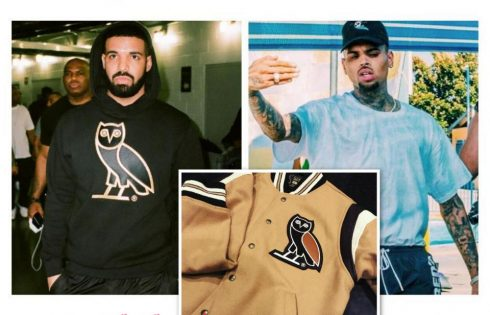 Drake Gifts Chris Brown With OVO Gear
