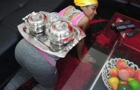 Nigerian Woman Goes On All Fours Everytime She Serves Her Husband