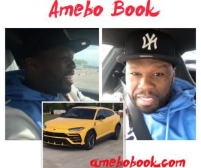 50 Cent Test Drive Expensive Luxury Cars
