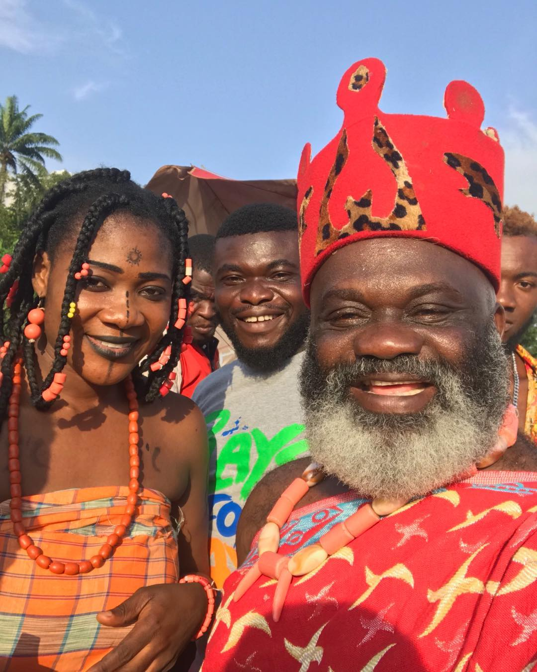 Harry B Anyanwu Pictured With Mercy Johnson (2)