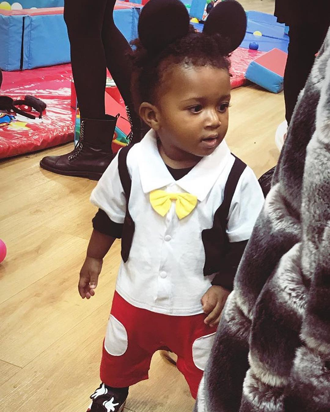 Zion Ayo-Balogun Mickey Mouse Themed Birthday Party (2)