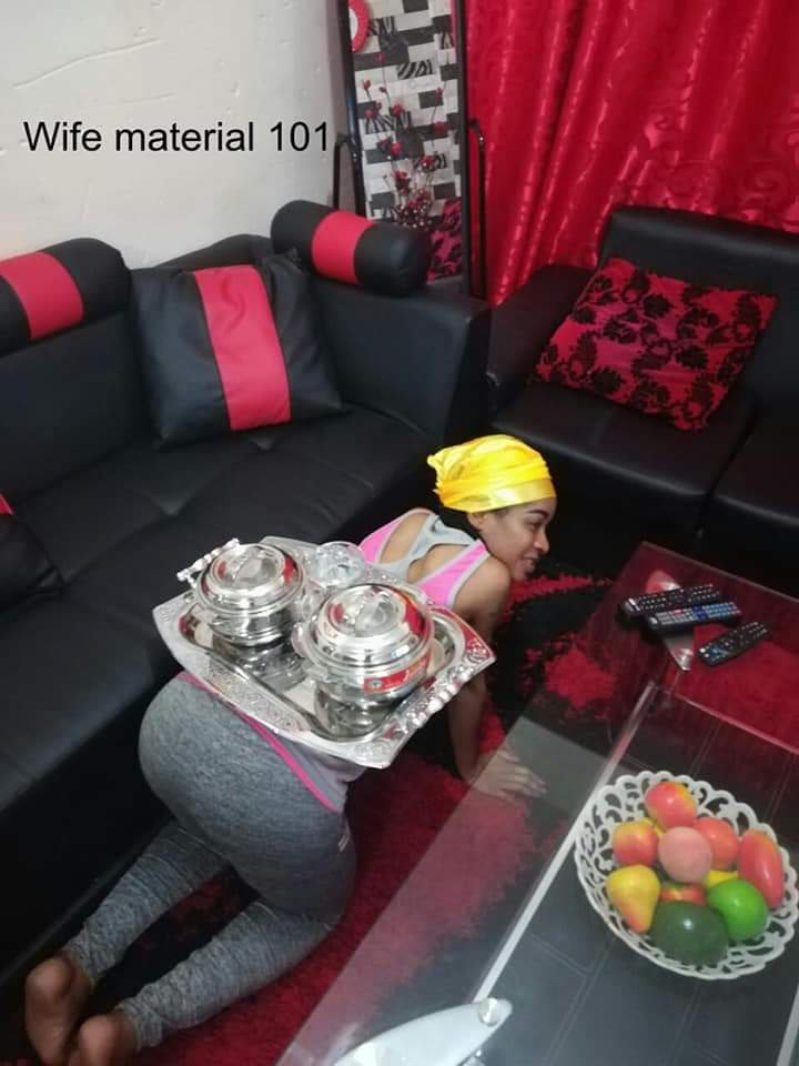 Nigerian Woman Goes On All Fours Everytime She Serves Her Husband (4)
