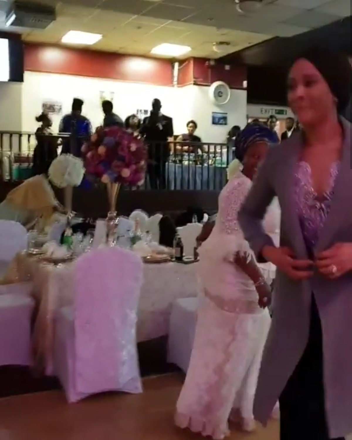 Moment Adesua Etomi Surprised Her Mum On Her 60th Birthday (2)