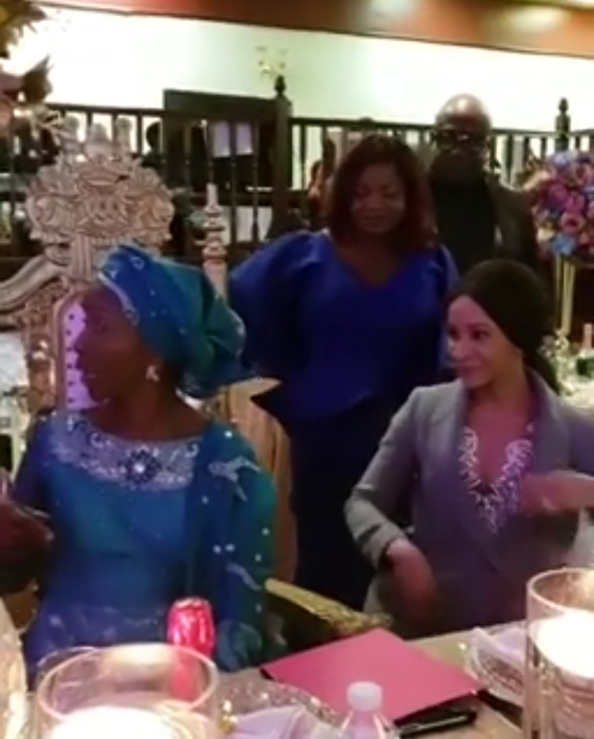Moment Adesua Etomi Surprised Her Mum On Her 60th Birthday (3)