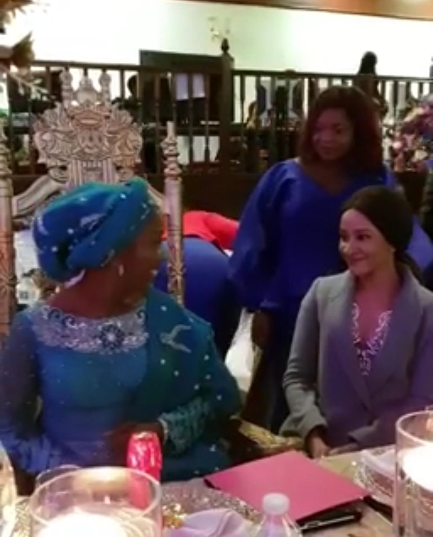 Moment Adesua Etomi Surprised Her Mum On Her 60th Birthday (4)