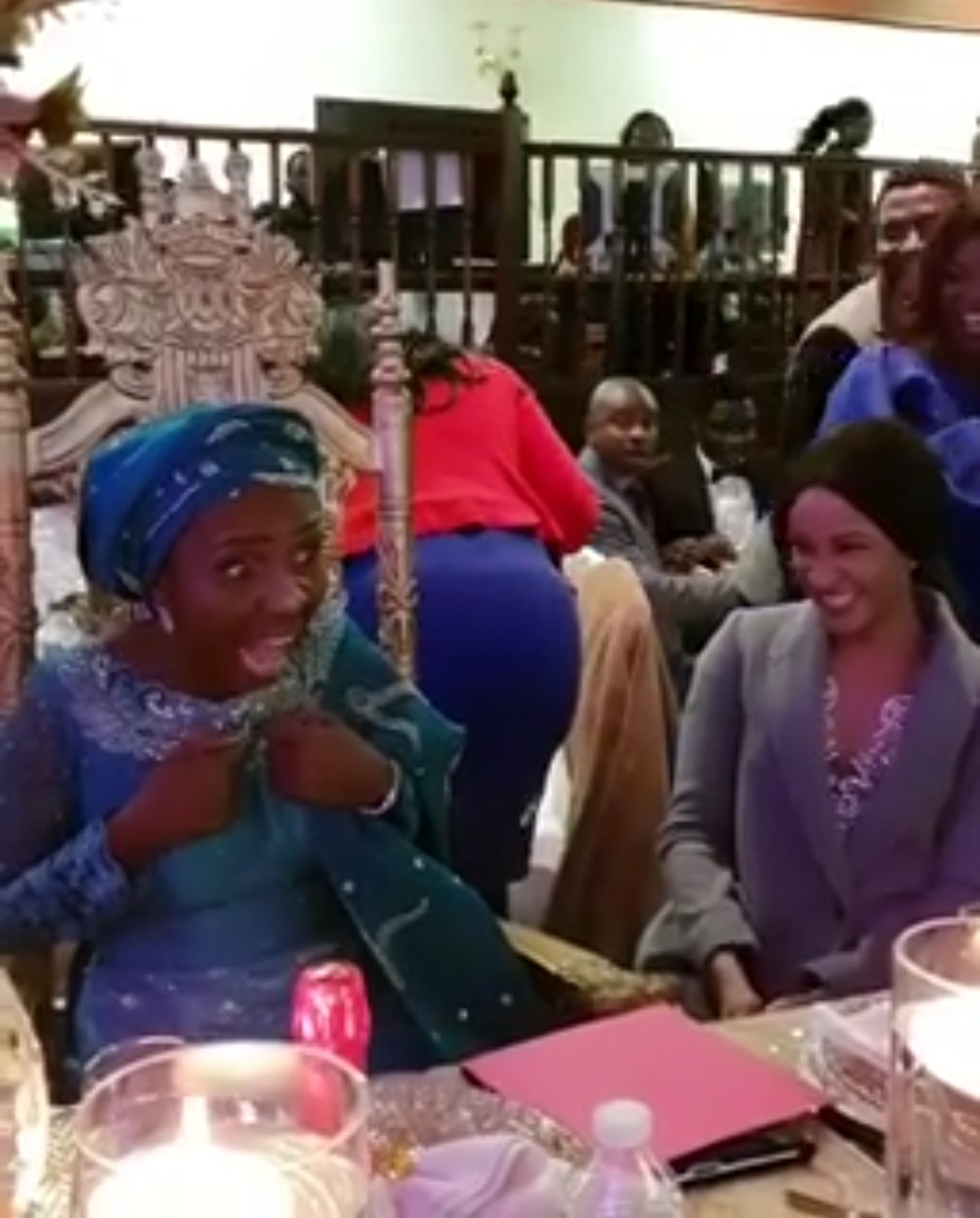 Moment Adesua Etomi Surprised Her Mum On Her 60th Birthday (5)