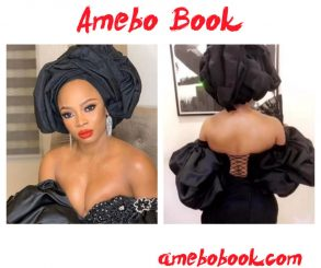 Toke Makinwa's Outfit To Chief Daddy Movie Premiere