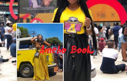 Jackie Appiah At Global Citizen Festival In South Africa