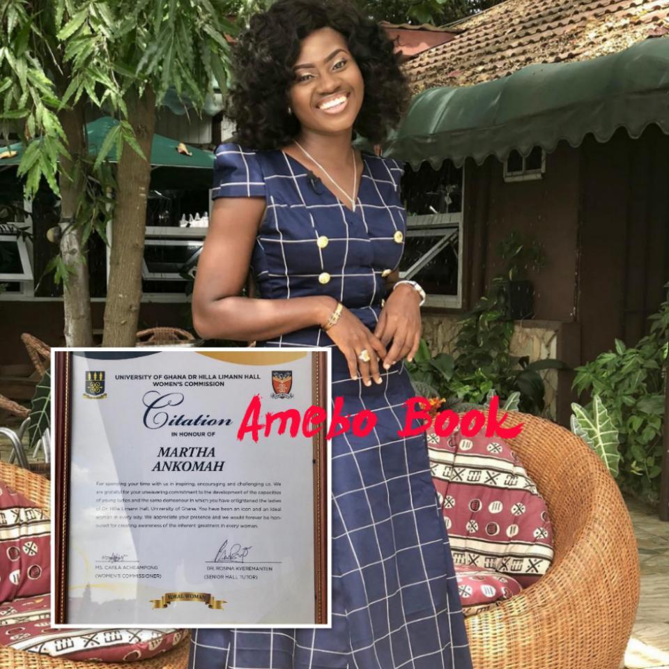 Citation In Honour Of Martha Ankomah