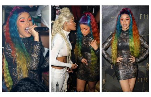 Cardi B Parties With Teyana Taylor In Miami After Offset Split