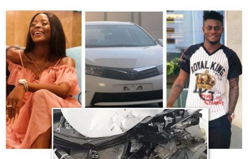 Khloe Survives Ghastly Motor Accident
