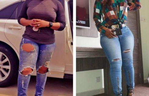 Nkechi Sunday And Abigail Nebechi On Ripped Jeans