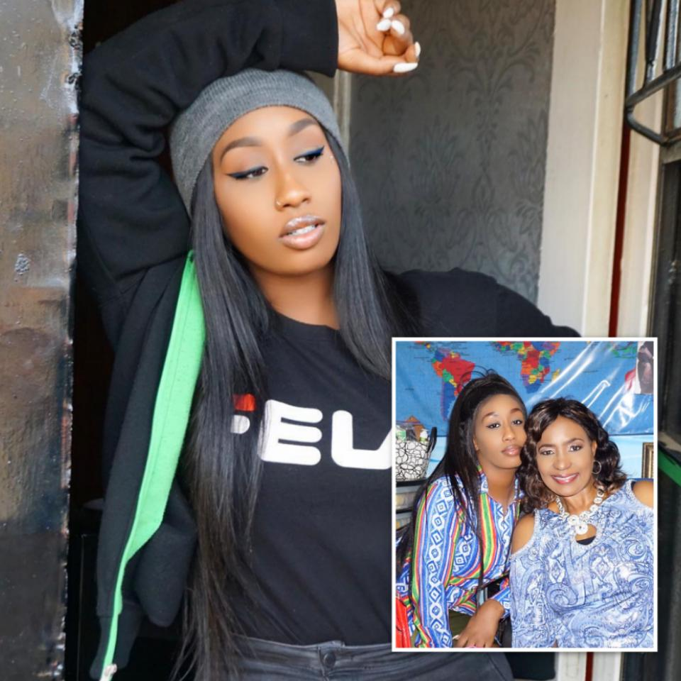 ff702be4f16b Kenyan Singer Victoria Kimani Poses With Her Mother In New Photo