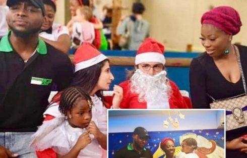 Imade Adeleke School Christmas Concert
