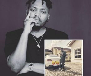 Olamide Shows Off His Bentley
