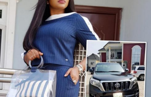 Trolls Come For Mercy Aigbe Over Her New Prado Jeep