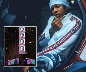 Runtown's Billboard Spotted In Times Square