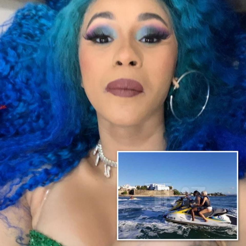 Cardi B Explains Why She Took The Jet Ski Photo With Offset