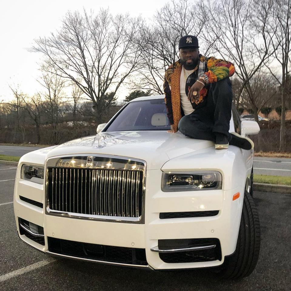 See The Rolls Royce Truck 50 Cent Just Bought After Fans Complained