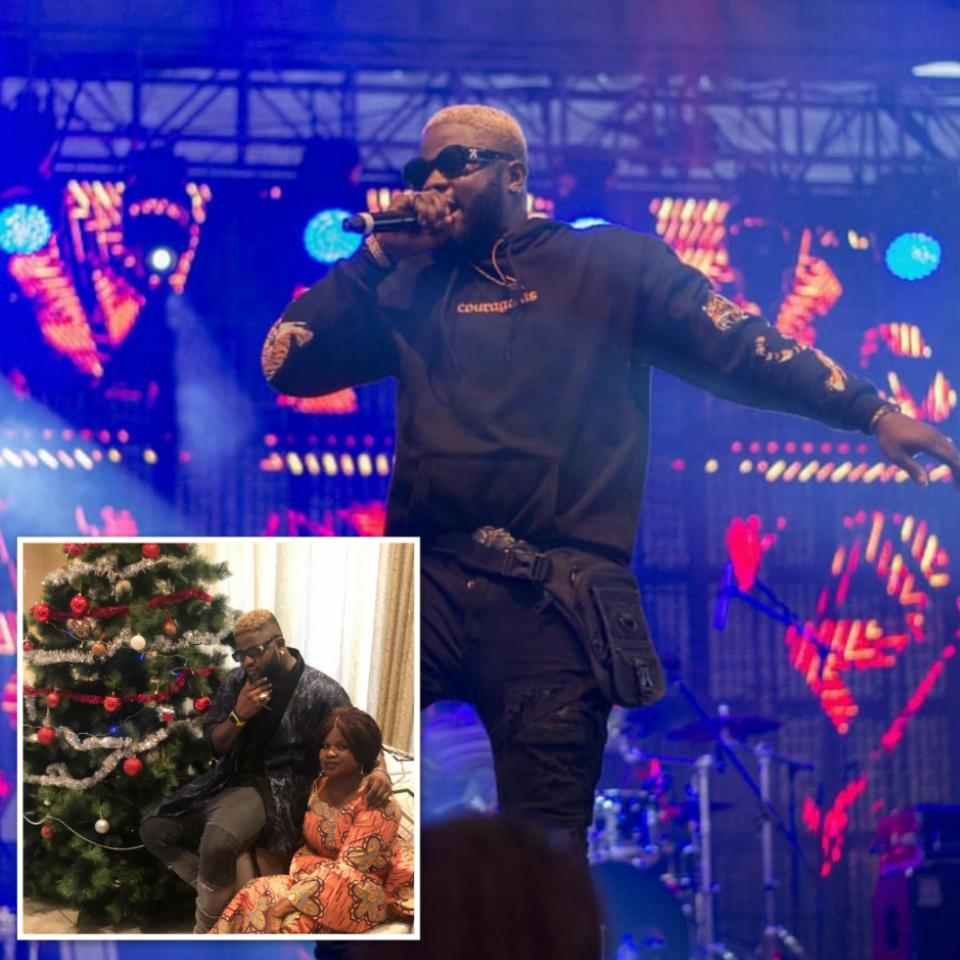Skales And His Mother Dishing Out Christmas Goals