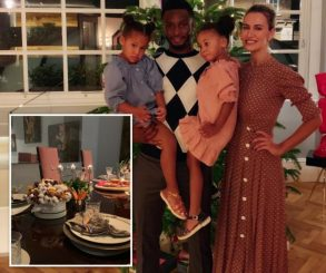 Mikel Obi Christmas Dinner