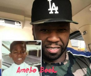 50 Cent Shares Rare Childhood Photo