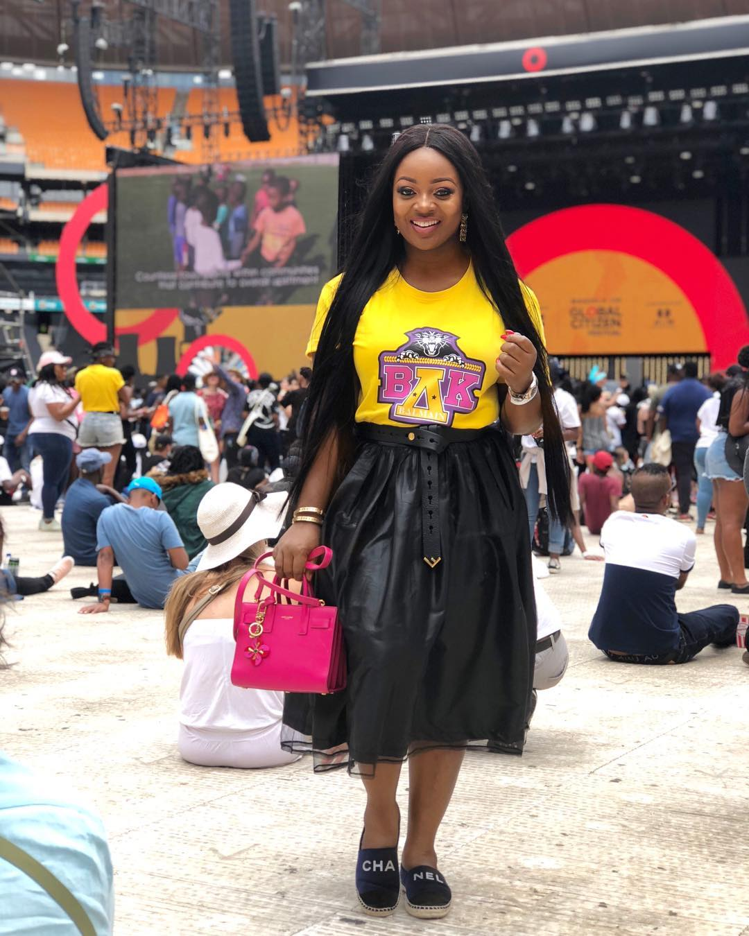 Jackie Appiah At Global Citizen Festival In South Africa (2)