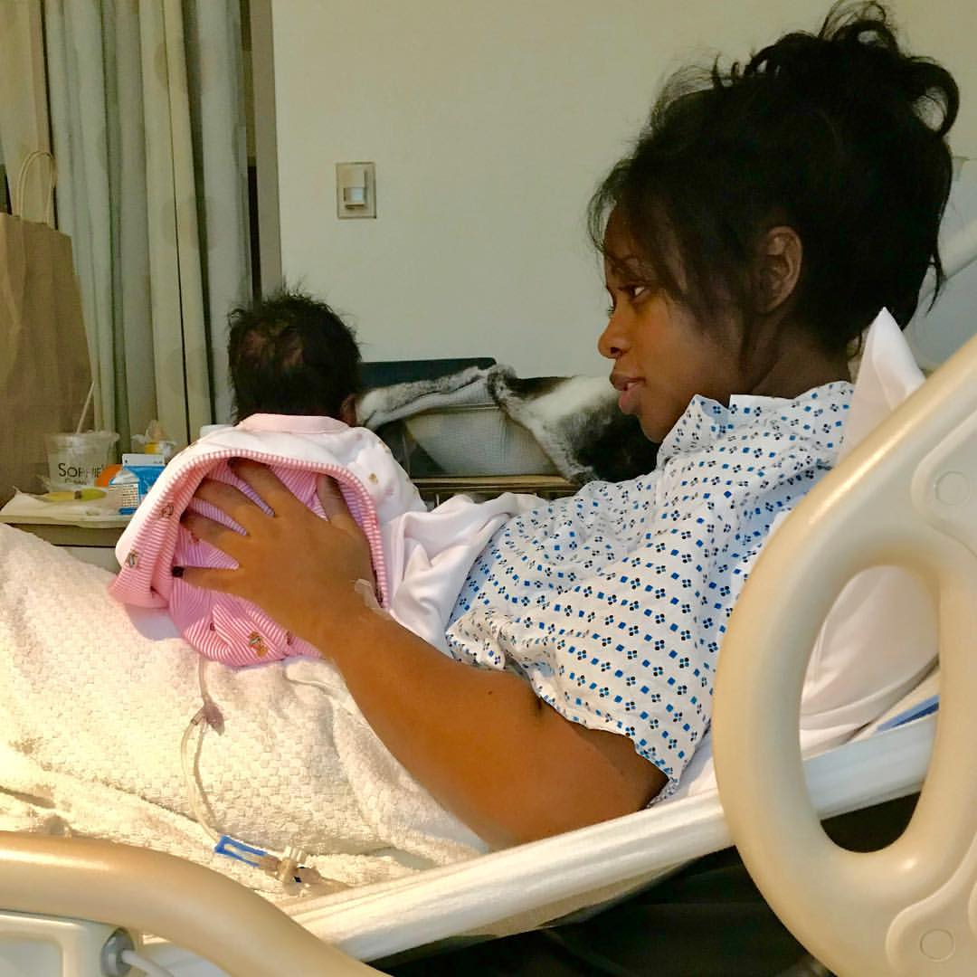 Remy Ma Shares First Photo Of Her Golden Child (2)